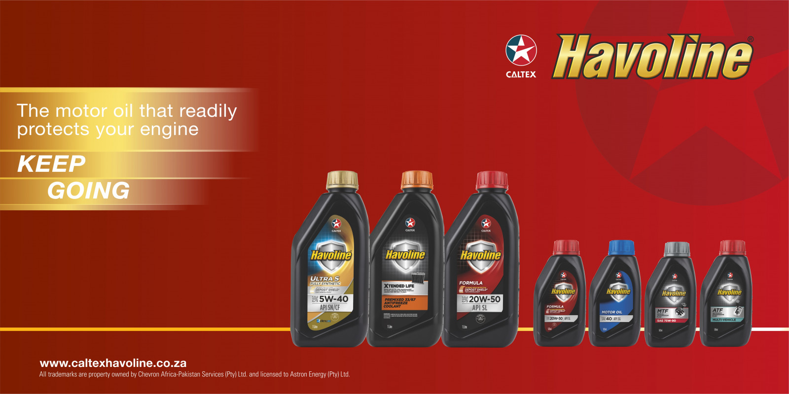Havoline protection Retailer Forecourt signage 2450x1225 small packshots app FIN v3